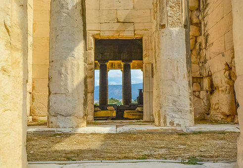 Greece, Greek, Temple, Athens, Ancient, Architecture