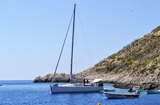 Yachts, Boat Landscape, Zakynthos Island Greece