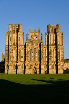Cathedral, Wells Cathedral, Architecture, City
