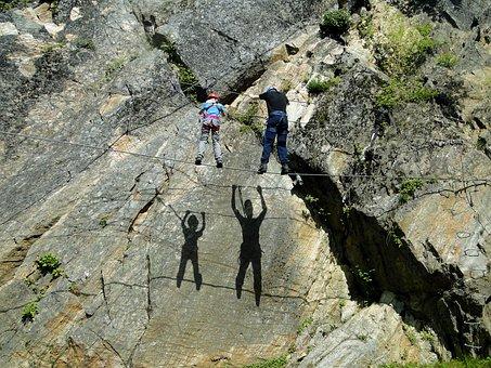 Rope Bridge, Climbing Garden, Climb, High Pointer