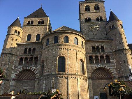 Trier, Christmas Market, Cathedral Square, Der Dom