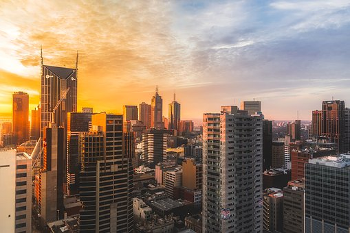Melbourne, Australia, City, Urban, Buildings