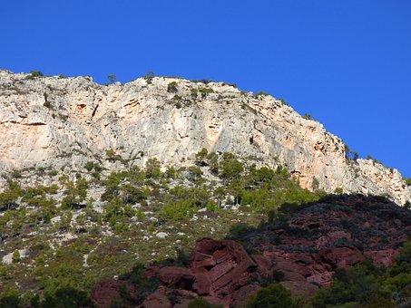 Mountains, Montsant, Priorat, Limestone, Red Stoneware