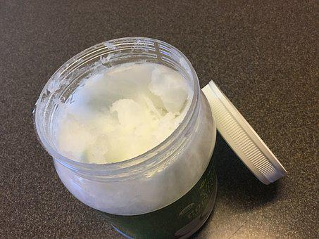 Coconut Oil, Coconut, Oil, Healthy, White, Organic