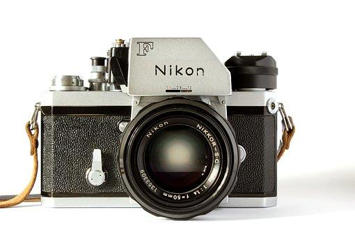 Nikon, Camera, Analog, Digital Camera, Photograph