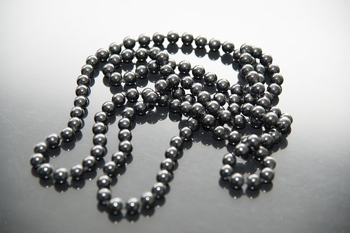 Necklace, Pearls, Nero, Reflection, Fashion, Beads