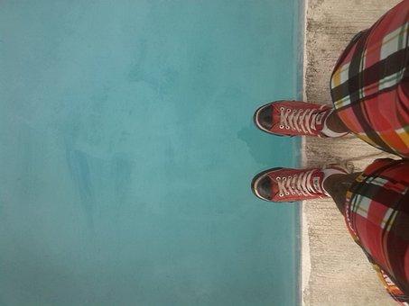 Step, Tennis, Picina