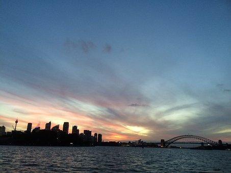 Sydney, Sydney Harbour, Harbour Bridge, Cityscape