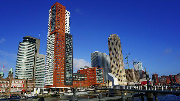 Rotterdam, Architecture, Tower, Buildings, City, Luxor