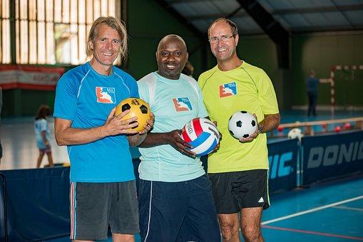 Handball, Ball, Sport, Coach, Training, Children