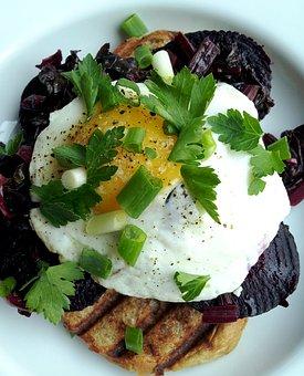 Beetroot, Salad, Eggs, Healthy, Vegetable, Beet, Lunch