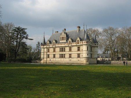 Castle, Azay-le-rideau, France, Loire