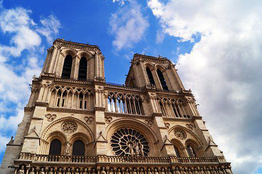 Notre-dame, Paris, Church, Cathedral, Tower, France