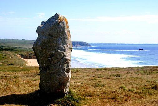 James Handley, Dolmen, Rock, Cliff, Brittany, Atlantic