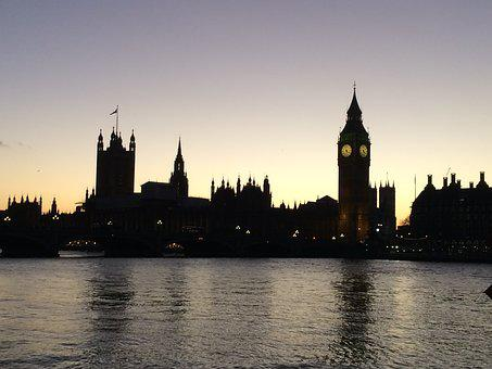 London, Thames, City, England, River, Landmark, Uk