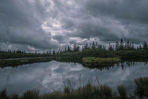 Pond, Storm, Rogla, Landscape, Nature, Lake, Pohorje