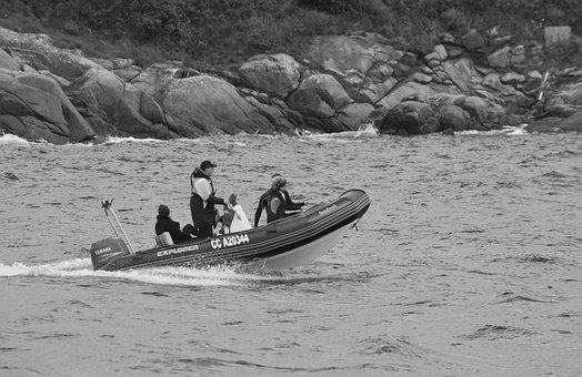 Inflatable Dinghy, Pneumatic Boat, Motor Boat, Hobbies