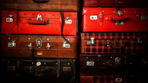 Luggage Compartment, Old Shanghai, Nostalgia