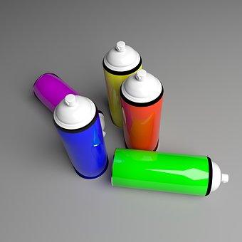 Color, Paint, Design, Rainbow, Decoration, Ink
