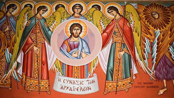 Congregation Of Angels, Iconography, Painting, Church