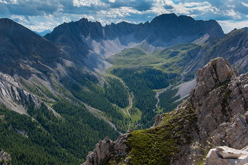 Dolomites, Alpine, Panorama, Landscape, Nature