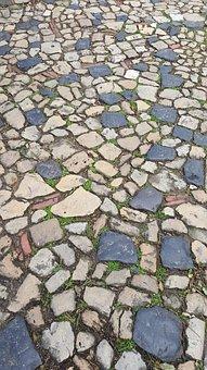 Pavers, Roads, Lisbon, Mosaic