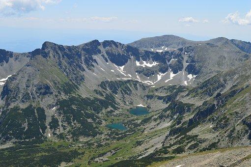 Mountain, Lake, Pirin, Climbing, Peak, Ecology, Rocky