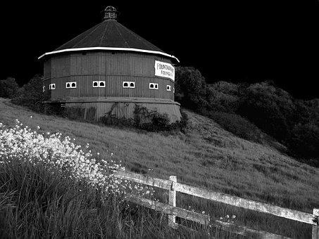 Round Barn, Santa Rosa, Ca, Fountaingrove, Barn