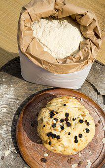 Food, Sweet, Eat, Rustic Panettone, Flour