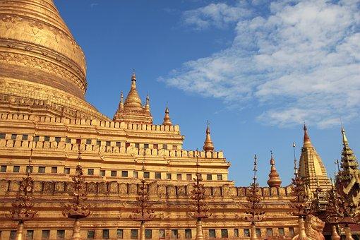 Myanmar, Bagan, Temple, Buddism, Sacred, Landmark