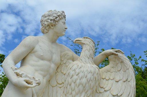 Statue, Marble, France, Architecture, Sculpture