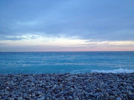 France, Sea, Water, French, Mediterranean, Bay, Beach