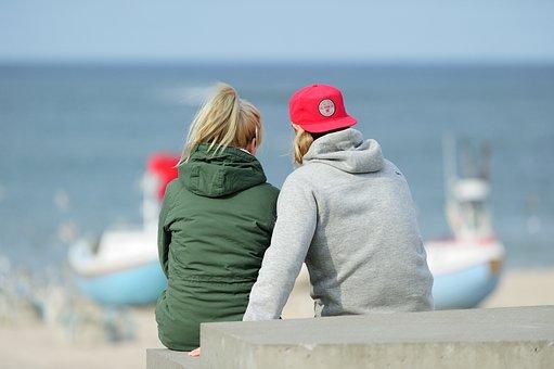 The Sea, Boyfriends, Beach