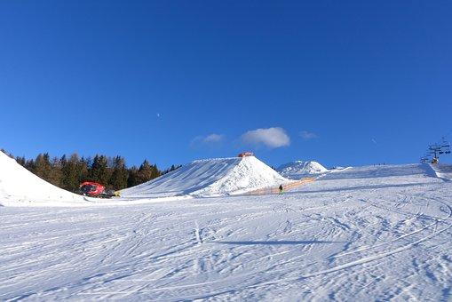Snowpark, Artificial Snow, Snowmakers, Alpe Di Siusi
