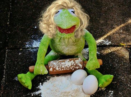 Kermit, Bake, Soft Toy, Funny