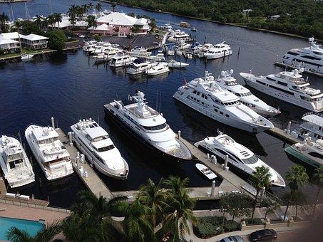 Yachts Big, Florida, Boats