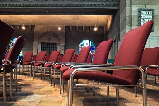 Chairs, Church, Series, Bench, Prayer, Furniture Pieces