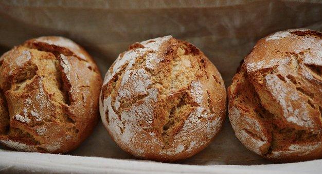 Bread, Roll, Rye, Crispy, Crust, Bake, Baked Goods