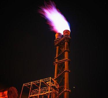 Fire, Flame, Torch, Flaring, Burn, Hot, Dangerous, Gas