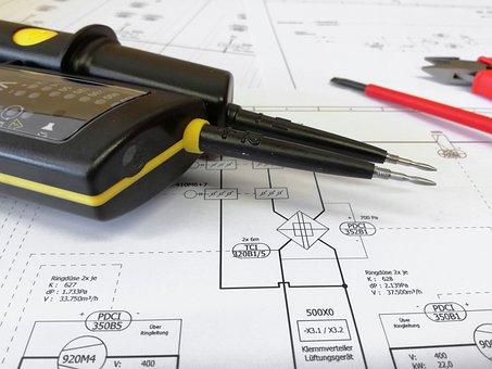 Distributor, Plan, Wiring Diagram, Electric