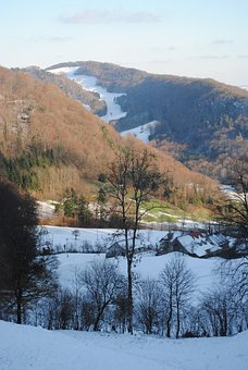 Wintry, Barmelhof, Erlinsbach, Switzerland