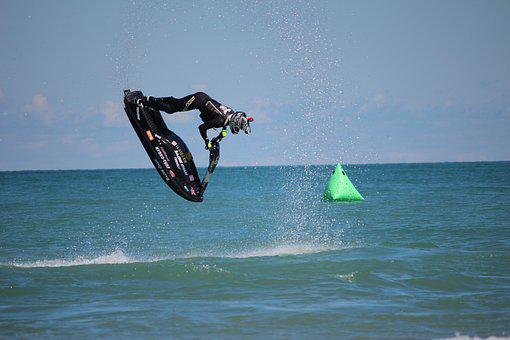 Jet Ski, Backflip, Backie Chan, Action Sports