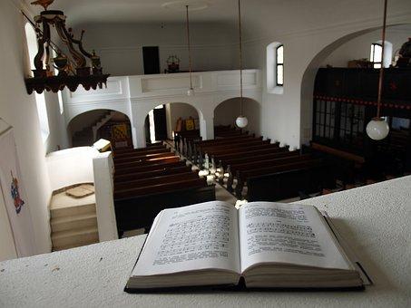 Kopács, Reformed Church, Organ, Croatia, Prayer Book