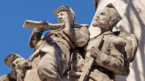 Soldiers, War, Statue, Military, Patriotism, Napoleon