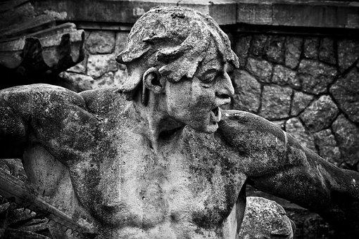 Statue, Fountain, Figure, Sculpture, Old, Monument