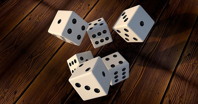 Cube, Play, Random, Luck, Points, Numbers Eyes