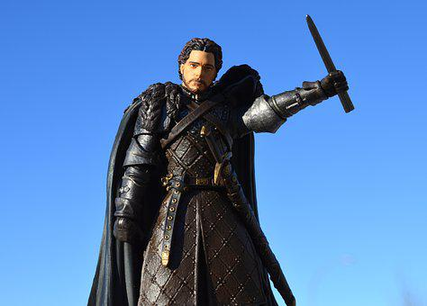 Games Of Thrones, Action Figure, Hbo, Robb Stark