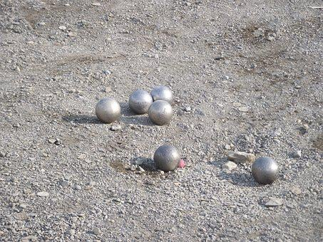 Boules, Balls, Sand, Fun, Throw, The Gameplay, Closeup