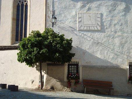 South Tyrol, Fie, Church, Tree