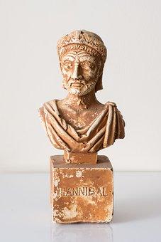 Roman Empire, Hanibal, Statue, Roman, Rome, Antient